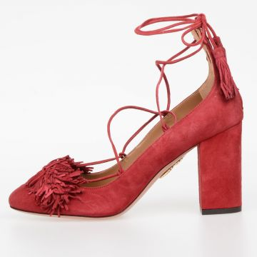 Suede Leather WILD PUMP Shoes