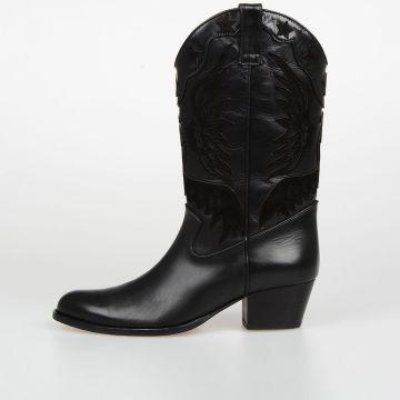 5 cm Leather IMPERAIL COWBOY Boots