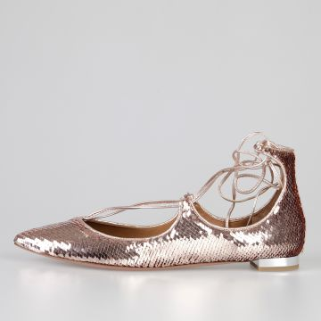 CHRISTY SEQUIN Flats