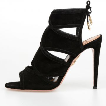 10.5 cm Suede Leather VIKA Sandals