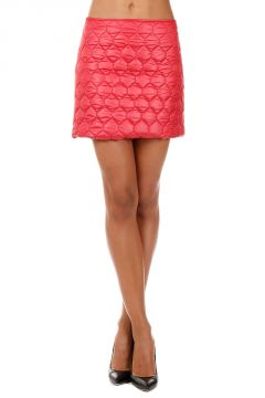 Quilted and Padded mini Skirt
