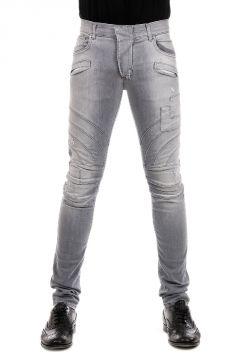 PIERRE BALMAIN Jeans in Denim Grigio 15 cm