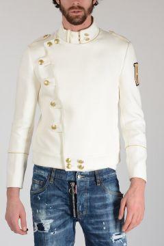 PIERRE BALMAIN Embroidery Cotton Jacket