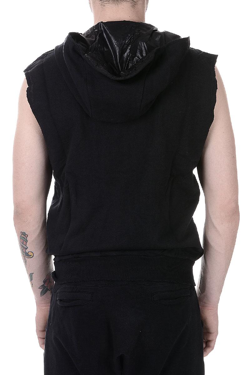balmain men pierre balmain sleeveless sweatshirt spence outlet. Black Bedroom Furniture Sets. Home Design Ideas