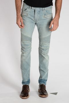 Jeans in Denim Misto Cotone 17 cm