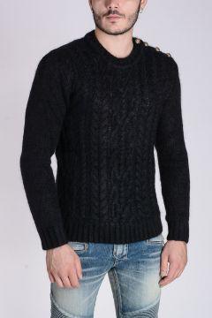 Wool & Mohair Chunky Sweater