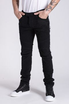 Pantalone Biker in Cotone Stretch