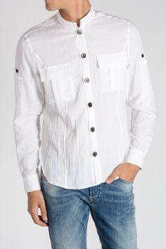 Ribbed Cotton Shirt