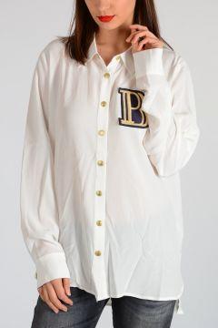 PIERRE BALMAIN Camicia in seta