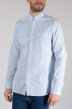 Cotton Shirt With 2 Pockets