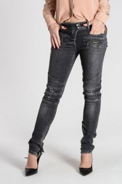 Stretch Cotton Jeans 13 cm