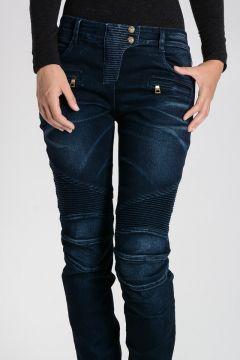 Cotton Blend embroidery Jeans 12 cm