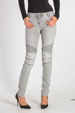Jeans Biker Stonewashed 12cm