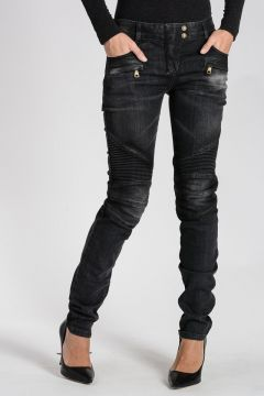 Stretch Denim Jeans 13 cm