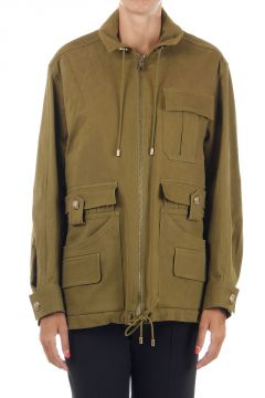Oversize zipped jacket
