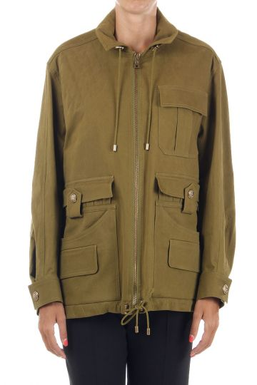 Oversize zipped jacket