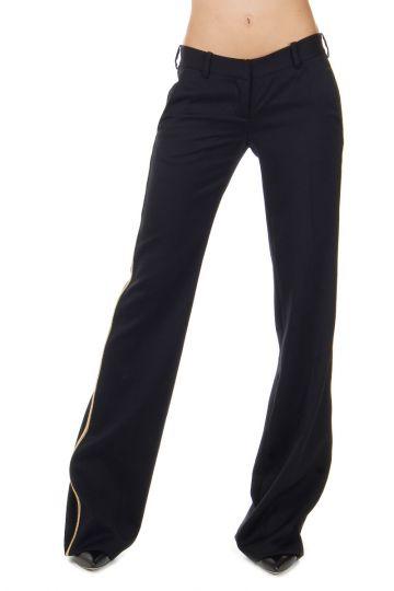 Pantalone a Zampa in Lana