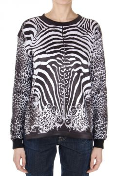 Long Sleeve Animalier T-Shirt