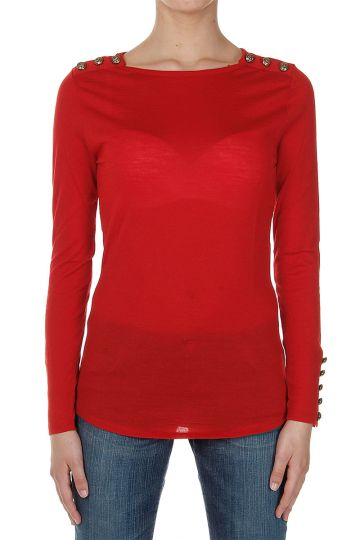 Wool Long Sleeved Sweater