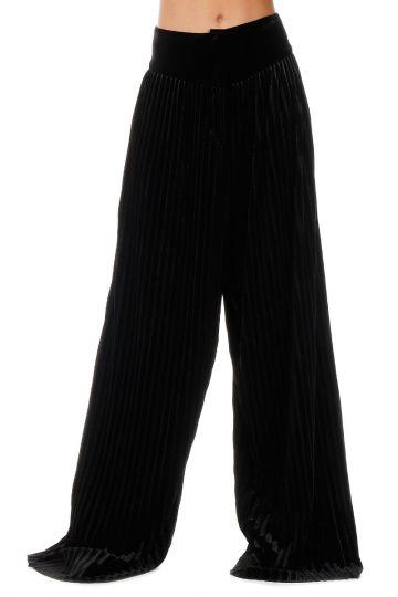 Pantalone in Ciniglia a Pieghe