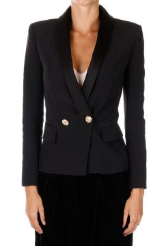 Lined Single Breasted Blazer