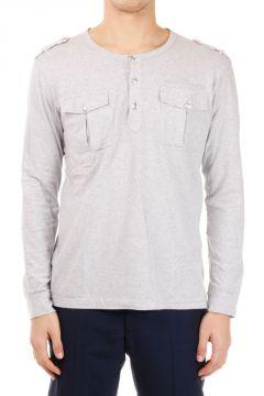 PIERRE BALMAIN T-shirt a Maniche Lunghe in Cotone