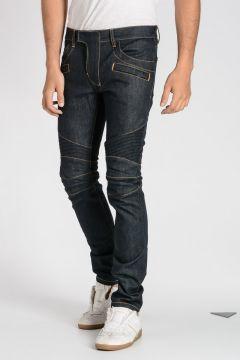 16 CM Cotton Blend Biker Jeans