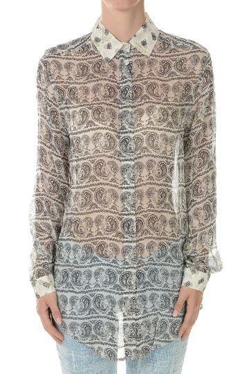 PIERRE BALMAIN Silk print Blouse