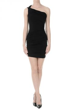 PIERRE BALMAIN Single Shoulder Dress
