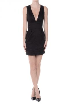 PIERRE BALMAIN Stretch Cotton Dress