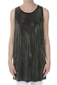 PIERRE BALMAIN Sequin Tank Top