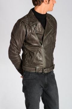 PIERRE BALMAIN Leather Biker