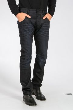 PIERRE BALMAIN Jeans in Denim di Cotone Stretch 19 cm