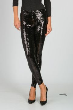 PIERRE BALMAIN Sequined Leggings