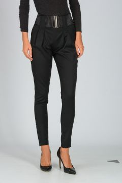 PIERRE BALMAIN Stretch Virgin Wool Pants