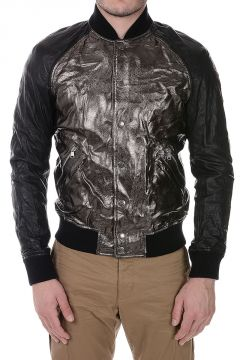 PIERRE BALMAIN Giacca Bomber in Pelle