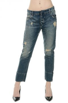 PIERRE BALMAIN Jeans Vita Bassa 16 cm