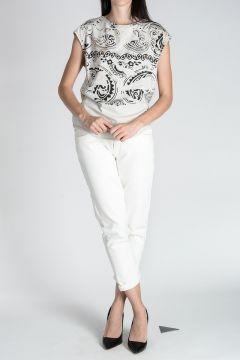 PIERRE BALMAIN Cotton Jersey Sleeveless T-shirt