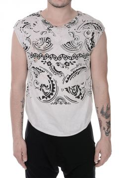 PIERRE BALMAIN T-shirt Senza Maniche In Cotone