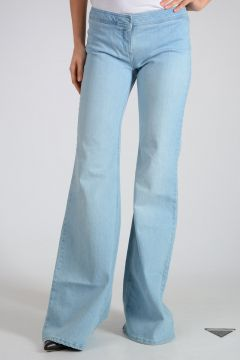 Jeans Bootcut in Cotone Stretch 33.5 cm