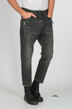 Jeans in Denim Stonewashed 18 cm