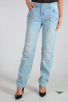 Jeans in Cotone Stretch 18 cm