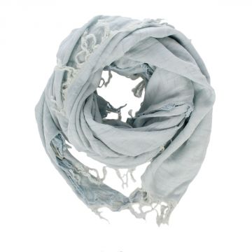 Cotton & Silk Foulard 140 x 135 cm