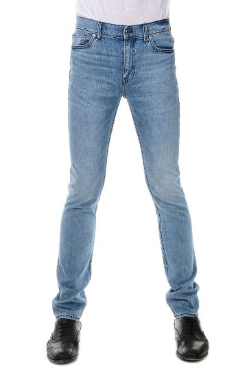 Stretch Denim Jeans 16 cm