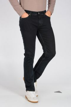 Jeans 5 SLIM in Denim di Cotone Stretch 18 cm