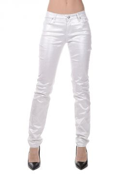 Stretch Denim Jeans with Swarovski Crystals 14 CM
