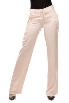 Pantalone Largo in Lino Seta