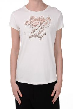 Swarovski Embroidered T-shirt