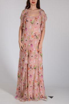 Silk Flowered Dress