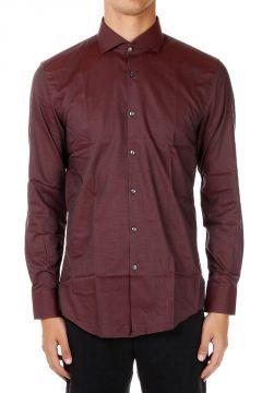 Camicia Slim Fit in Cottone